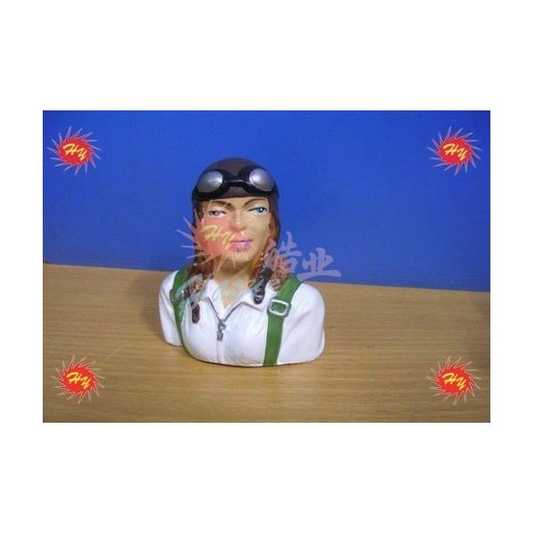 Piloto chica pintado