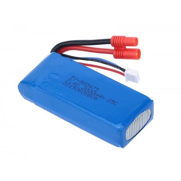 Batería Lipo 7.4Vol 2000mAh 25C