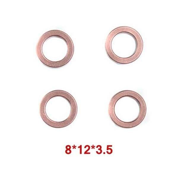 Casquillos Vortex 8x12x3.5mm