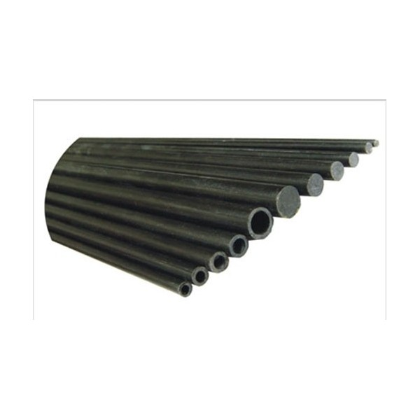 Tubo de carbono 5 5mm X 3 5mm X 1000mm X 3 UNID.