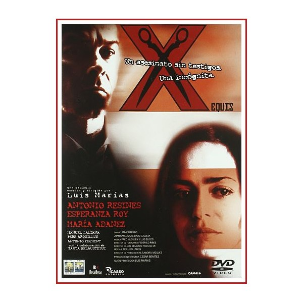 X (EQUIS) DVD 2002 CINE ESPAÑOL Dirigida por Luis Marías