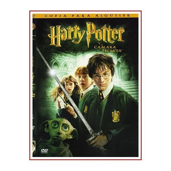 CARATULA DVD HARRY POTTER Y LA CAMARA SECRETA