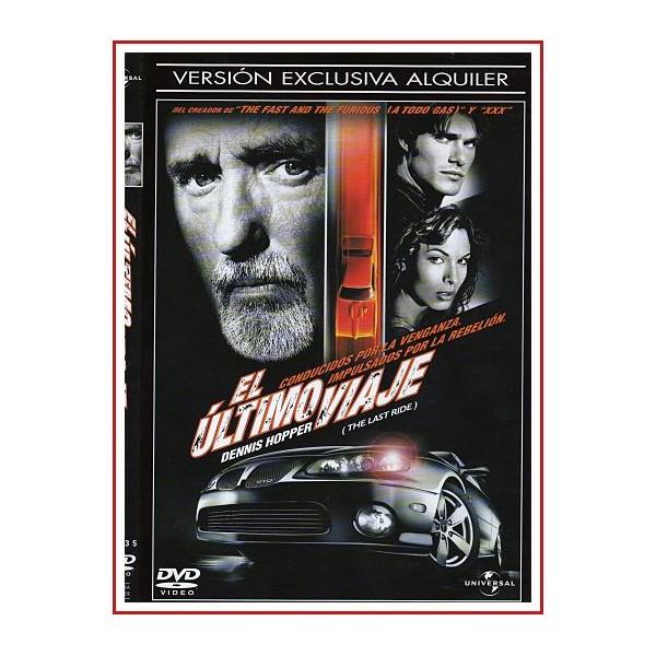 CARATULA ORIGINAL DVD EL ÚLTIMO VIAJE