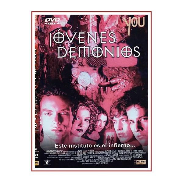 CARATULA ORIGINAL DVD JOVENES DEMONIOS