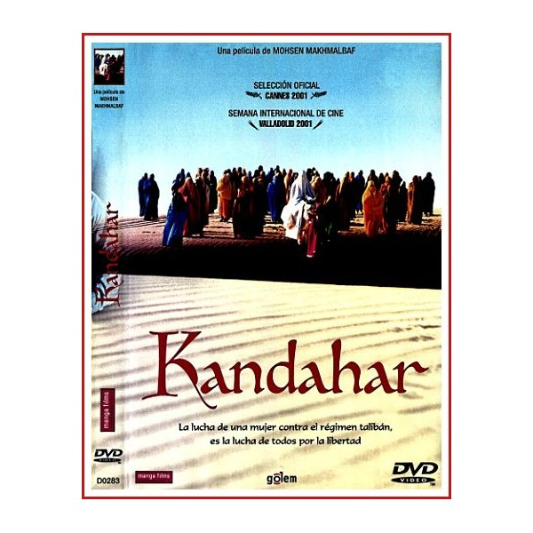 CARATULA ORIGINAL DVD KANDAHAR