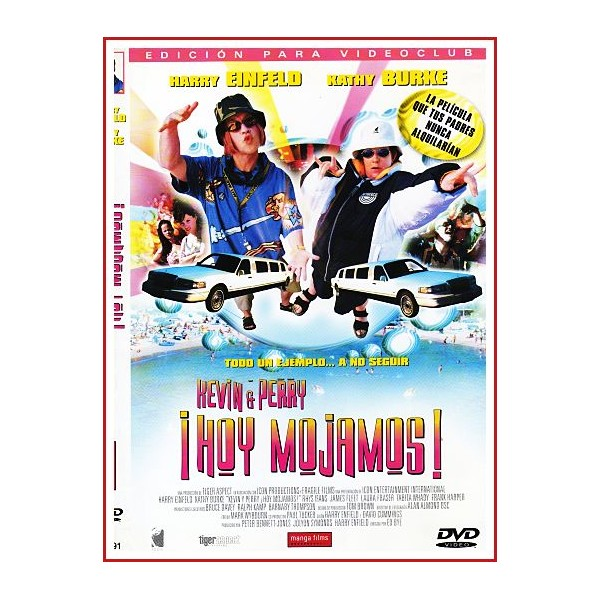CARATULA ORIGINAL DVD ¡HOY MOJAMOS!