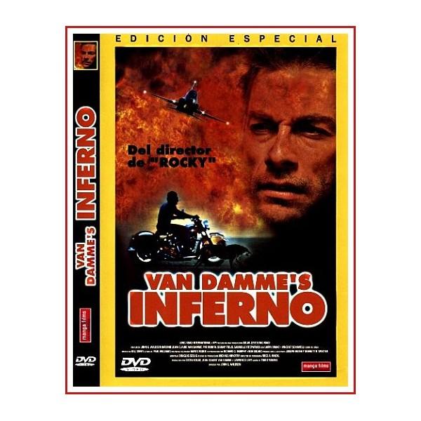 CARATULA ORIGINAL DVD VAN DAMME'S INFIERNO