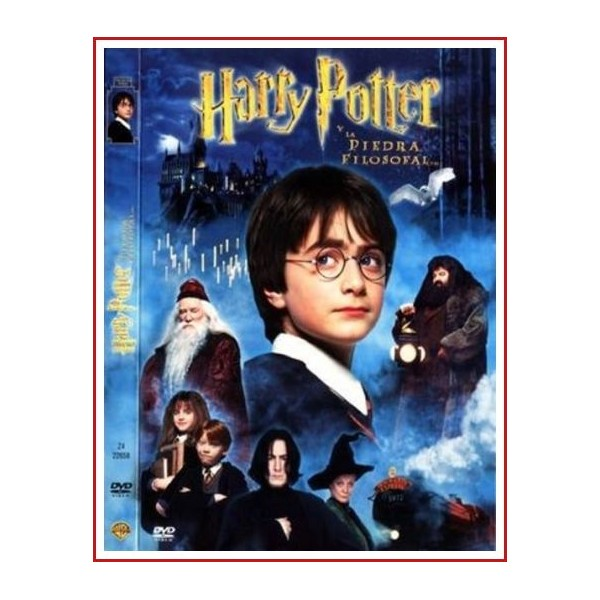 HARRY POTTER LA PIEDRA FILOSOFAL EDICIÓN COLECCIONISTA DVD 2001 DOS DISCOS