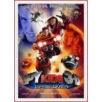 SPY KIDS 3-D GAME OVER ED 2 DISCOS DVD 2003 Director Robert Rodriguez
