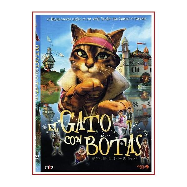EL GATO CON BOTAS DVD 2009 Directores Jérôme Deschamps-Pascal Hérold