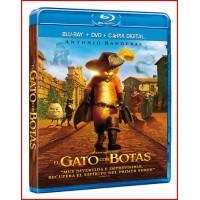 EL GATO CON BOTAS BLU RAY 2012 Directores: Chris Miller