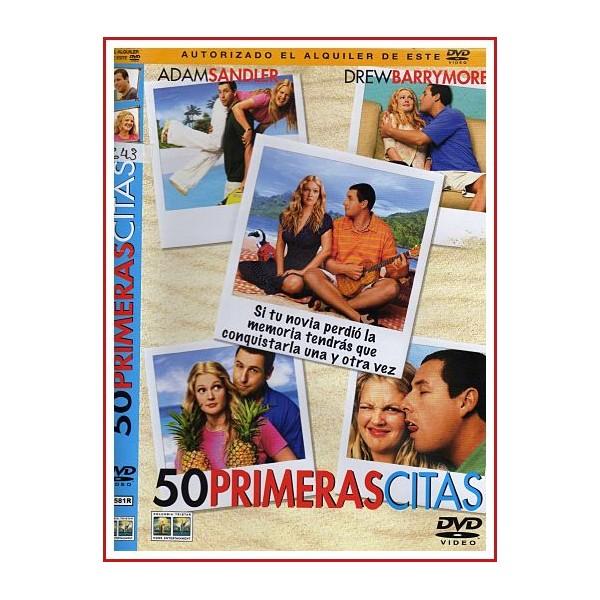 50 PRIMERAS CITAS DVD 2004 Dirección Peter Segal