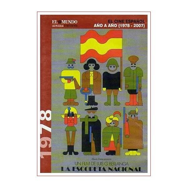 LA ESCOPETA NACIONAL Dvd 1978 Cine Español