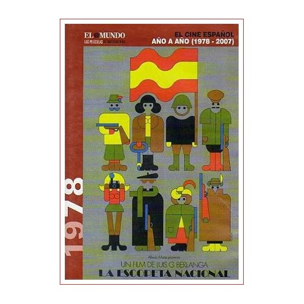LA ESCOPETA NACIONAL Dvd 1978 Cine Español Direc. Luis García Berlanga