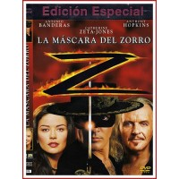 LA MASCARA DEL ZORRO EDICIÓN ESPECIAL DVD 1998 Dir. Martin Campbell
