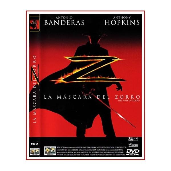 LA MASCARA DEL ZORRO DVD 1998 Dirigida por Martin Campbell