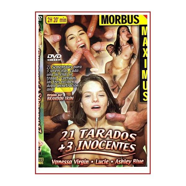 CARATULA DVD 21 TARADOS+3 INOCENTES