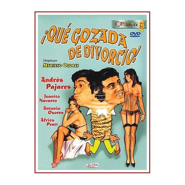 ¡QUE GOZADA DE DIVORCIO! DVD 1981 Dirigida por Mariano Ozores