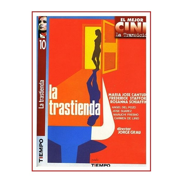 LA TRASTIENDA DVD 1975 Drama-Erótico Dirigida por Jorge Grau