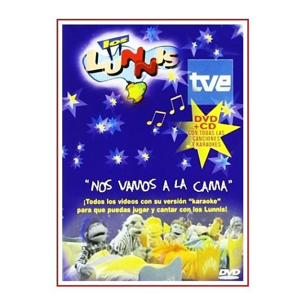 LOS LUNNIS NOS VAMOS A LA CAMA DVD+CD CANCIONES