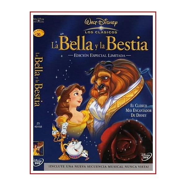 LA BELLA Y LA BESTIA DVD 1991 Dirección Gary Trousdale, Kirk Wise