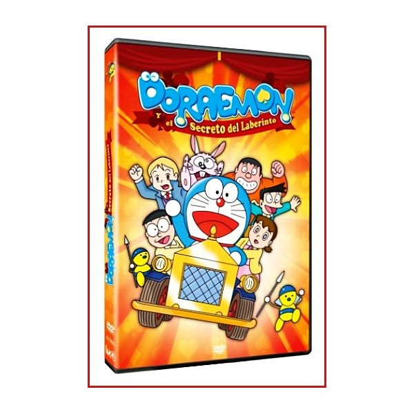 DORAEMON Y EL SECRETO DEL LABERINTO DVD 1993 Dir. Tsutomu Shibayama