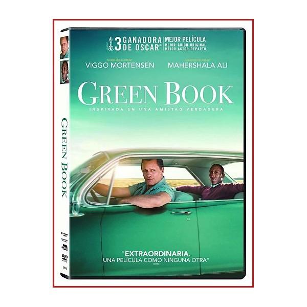 GREEN BOOK (El Libro Verde) DVD 2018 Basado en hechos reales-Racismo