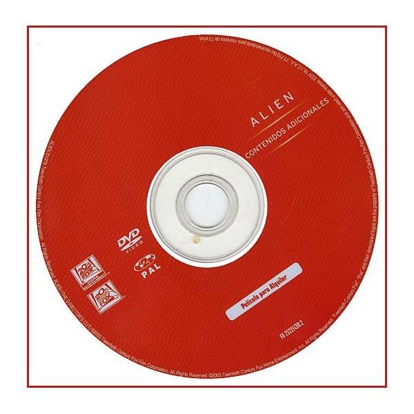 DISCO ORIGINAL EXTRA DVD ALIEN