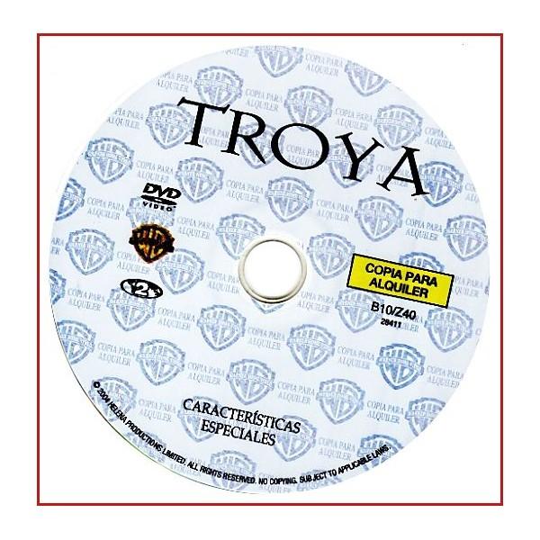 DISCO ORIGINAL EXTRA DVD TROYA