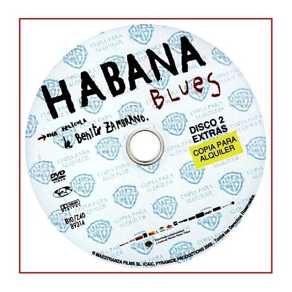 DISCO ORIGINAL EXTRA DVD HABANA