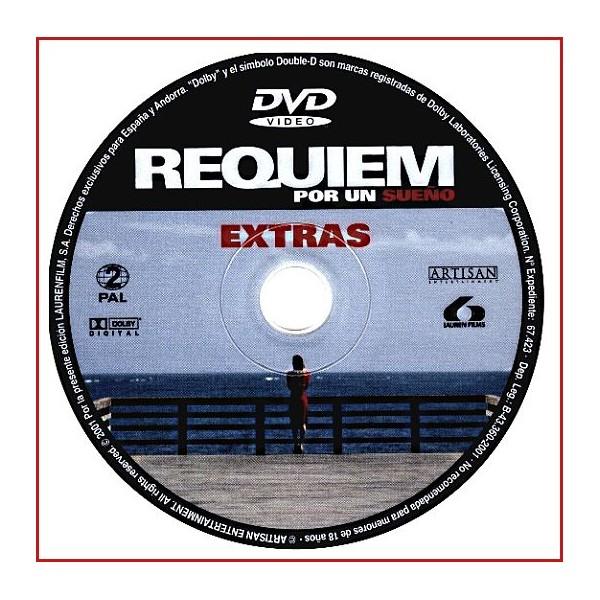 DISCO ORIGINAL EXTRA DVD REQUIEM POR UN SUEÑO