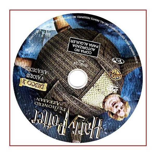 DISCO ORIGINAL EXTRA DVD HARRY POTTER Y EL PRISIONERO DE AZKABAN
