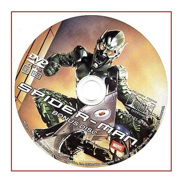 DISCO ORIGINAL EXTRA DVD SPIDERMAN