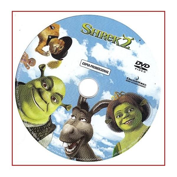 DISCO ORIGINAL EXTRA DVD SHREK 2