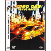 A TODO GAS TOKYO RACE DVD 2006 Dirección Justin Lin