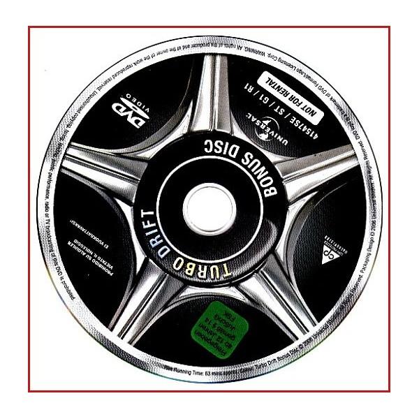 DISCO ORIGINAL EXTRA DVD A TODO GAS TOKYO RACE
