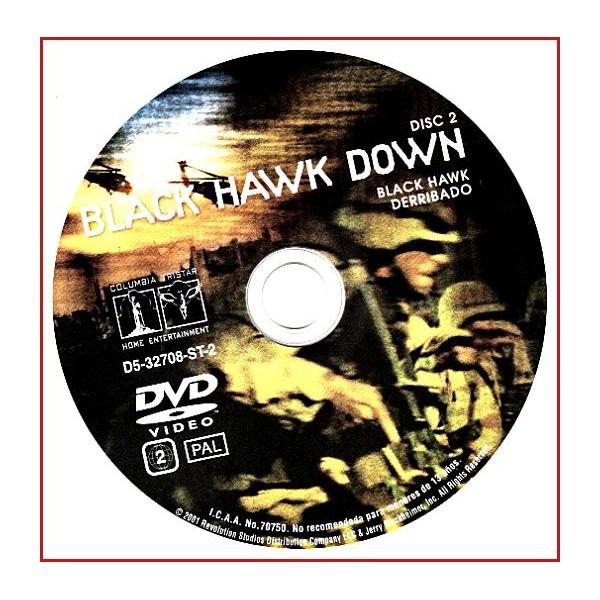 DISCO ORIGINAL EXTRA DVD BLACK HAWK DERRIBADO