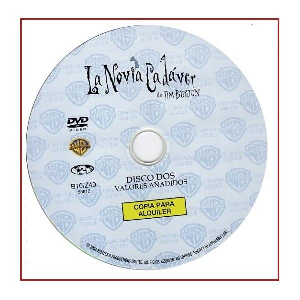 DISCO ORIGINAL EXTRA DVD LA NOVIA CADAVER