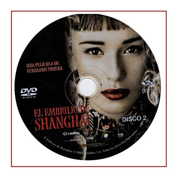 DISCO ORIGINAL EXTRA DVD EL EMBRUJO DE SHANGHAI