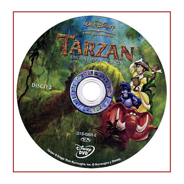 DISCO ORIGINAL EXTRA DVD TARZAN