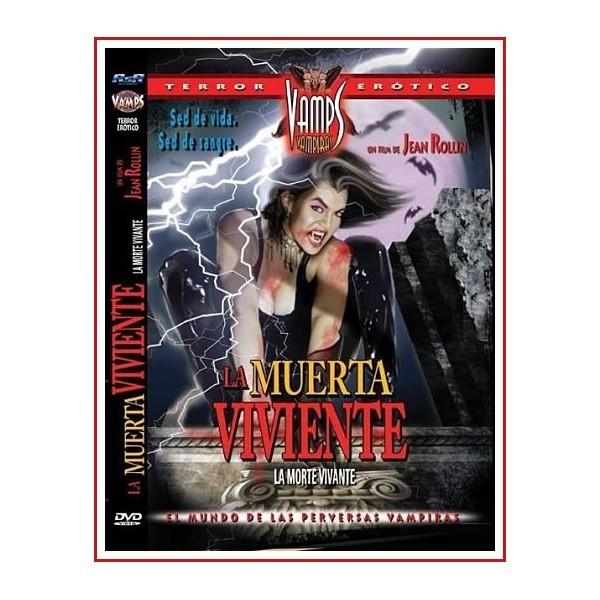 LA MUERTA VIVIENTE LA MORTE VIVANTE DVD 1982 Dirigida por Jean Rollin