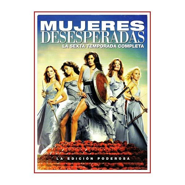 MUJERES DESESPERADAS LA TEMPORADA 6 DISCOS LA EDICIÓN PODEROSA 2009