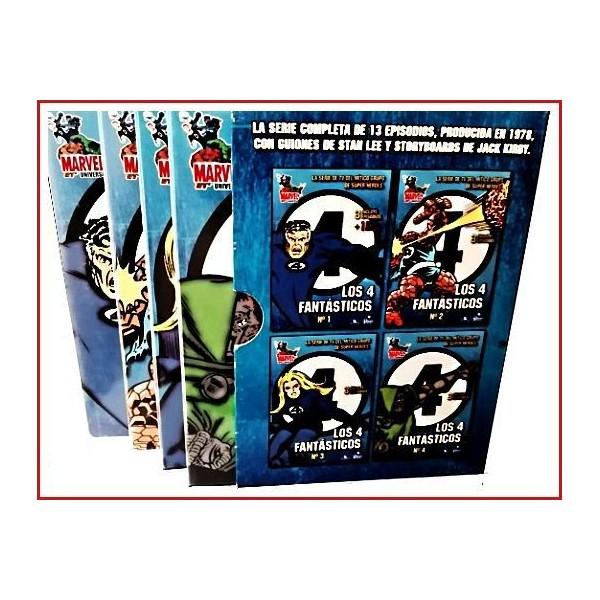 LOS 4 FANTÁSTICOS ESTUCHE EDICIÓN 4 DISCOS DVD 1978 4 Películas