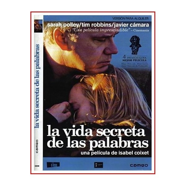 LA VIDA SECRETA DE LAS PALABRAS DVD 2005 Dirección Isabel Coixet