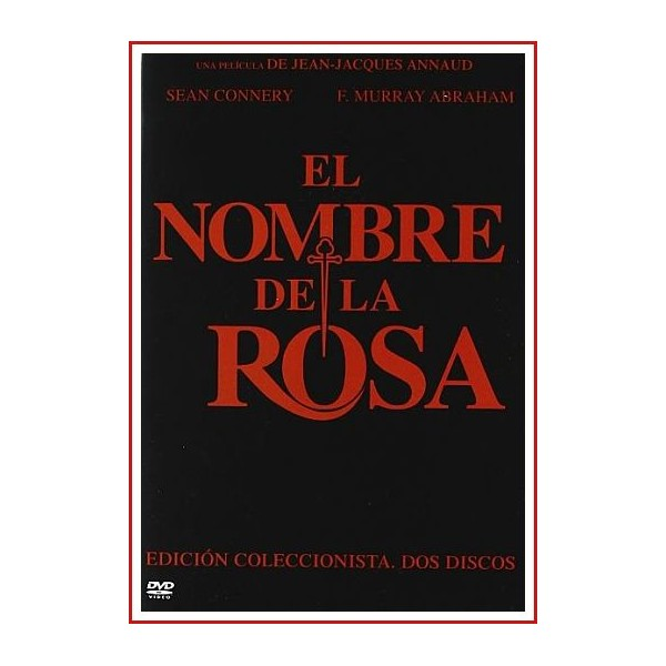 EL NOMBRE DE LA ROSA EDICION ESPECIAL 2 DISCOS DVD 1986