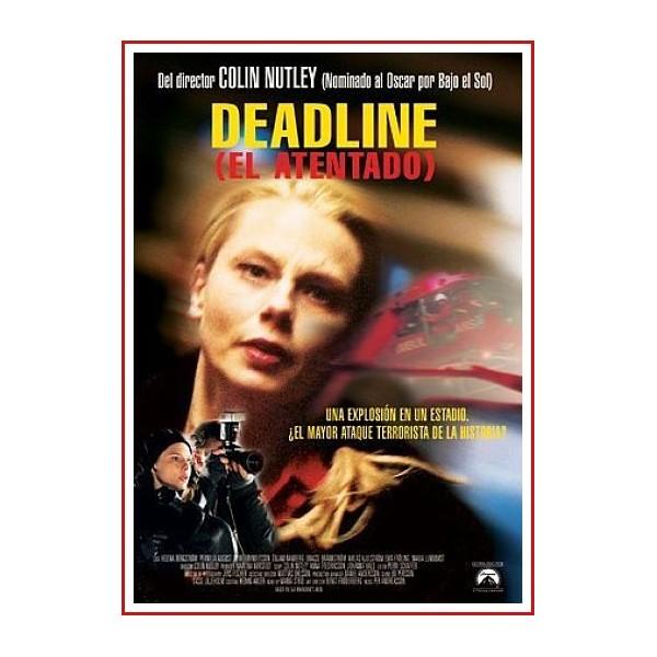 DEADLINE EL ATENTADO DVD 2001 Dirección Colin Nutley