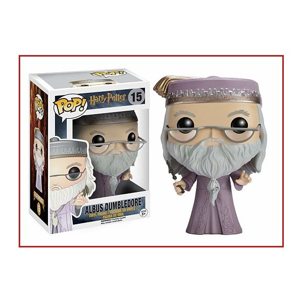ALBUS DUMBLEDORE MOD5894 (15) FUNKO POP Colección Harry Potter