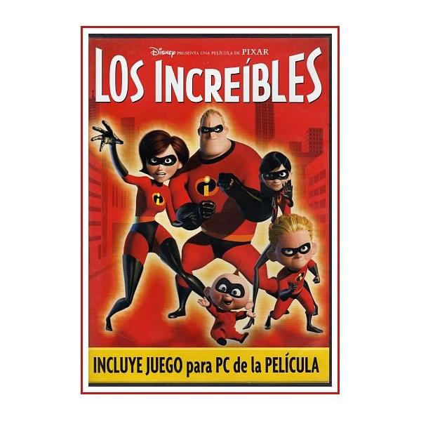 LOS INCREÍBLES EDICIÓN ESPECIAL 4 DISCOS DVD 2004 Dirección Brad Bird