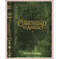 EL SEÑOR DE LOS ANILLOS: LA COMUNIDAD DEL ANILLO VERSIÓN EXTENDIDA DVD DE COLECCIONISTA