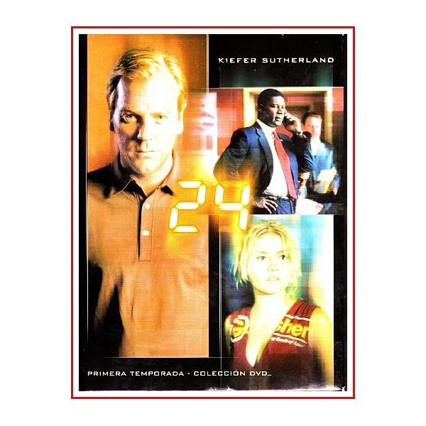 24 PRIMERA TEMPORADA COLECCIÓN DVD 2001 SERIE TV